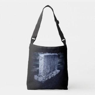 Halloween Gravestone All-Over-Print Cross Body Bag クロスボディバッグ