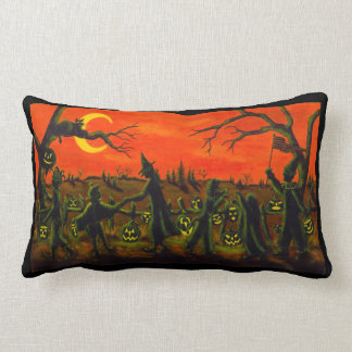 Halloween lumbar pillow ,trick or treat ランバークッション