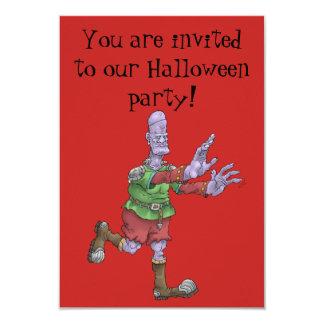 Halloween party invitation. カード