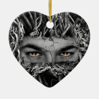 Halloween_Tree_Man セラミックオーナメント