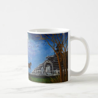 "Halloween Wedding Mugs ""Halloween Honeymoon"" コーヒーマグカップ"