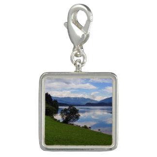 Hallstattersee湖、アルプス、オーストリア チャーム