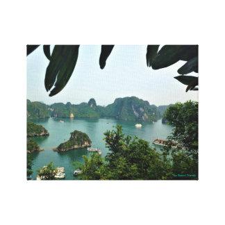 Halong湾、ベトナム キャンバスプリント