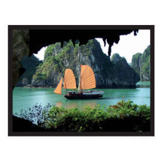 Halong Bay - Postal card ポストカード