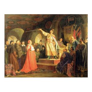 Halych-VolhyniaのRoman王子 ポストカード
