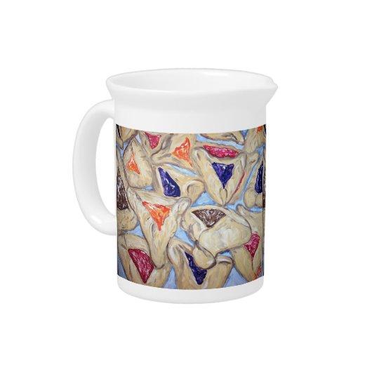 Hamantaschenの芸術の水差し 飲み物ピッチャー