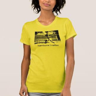 Hamboneの国家のキャッチャーの女性のティー Tシャツ