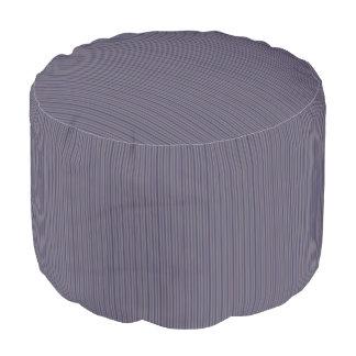 HAMbWGのPoufの椅子-ラベンダーは縞で飾ります プーフ