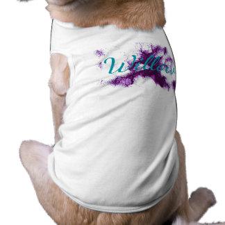 HAMbWG -犬のTシャツ-赤い水玉模様 ペット服