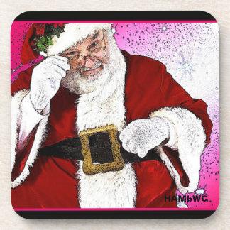 HAMbWG - Plastic Coasters (6) - Santa Claus コースター