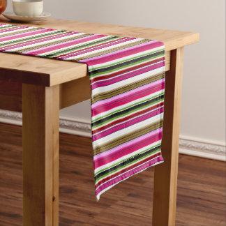 HAMbWG - Table Runner - Multi - Colored Gradients ショートテーブルランナー