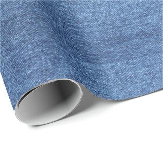 HAMbyWG -ギフト用包装紙-デニムのプリント ラッピングペーパー