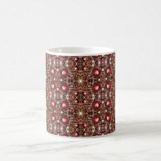 HAMbyWG -コーヒー・マグ-宝石で飾られる赤 コーヒーマグカップ