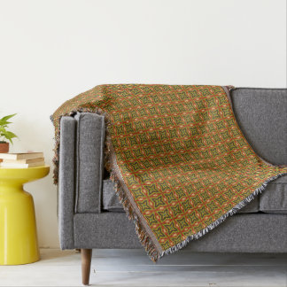 HAMbyWG -毛布-錆のオリーブタン スローブランケット