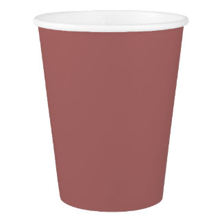 HAMbyWG -紙コップ9つのoz -ヴィンテージのばら色のマッチ 紙コップ