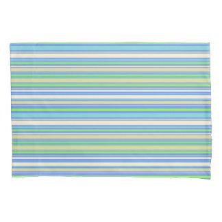 HAMbyWG -組の枕カバー-青いバーのストライプ 枕カバー