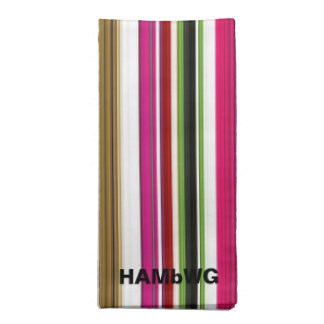HAMbyWG - Cloth Napkin - Multi-Colored Gradient ナプキンクロス