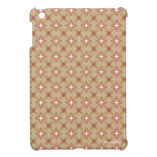 HAMbyWG iPad Miniの光沢のある堅い場合は-ベージュ色または上がりました iPad Miniケース