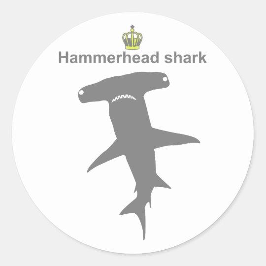 Hammerhead shark g5 ラウンドシール