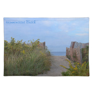Hammonassetのビーチのランチョンマット ランチョンマット