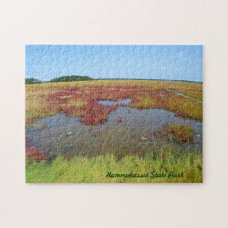 Hammonassetの沼地のパズル ジグソーパズル