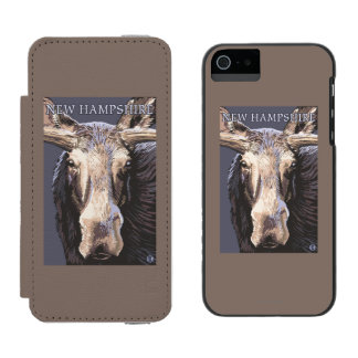 HampshireMooseの新しい終わり Incipio Watson™ iPhone 5 財布 ケース