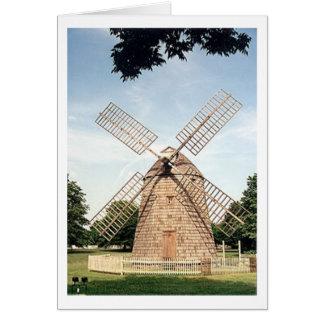 Hamptonsの風車NOTECARD カード