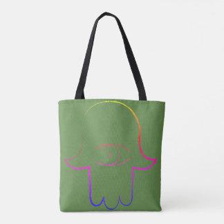 Hamsaのトートバック トートバッグ