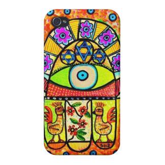Hamsaの携帯電話の箱極楽鳥 iPhone 4 ケース