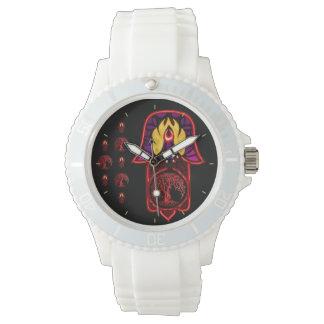 Hamsaの業績の手: 生命の樹 腕時計