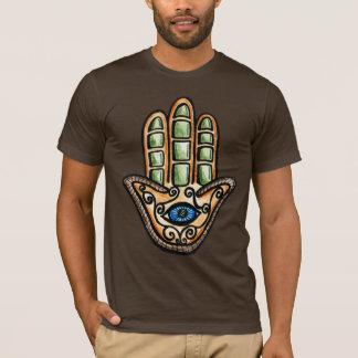 Hamsaの目、ファティマの手 Tシャツ