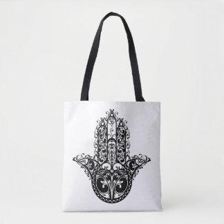 Hamsaの装飾的なデザイン2 トートバッグ