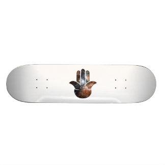Hamsaの銀河 20cm スケートボードデッキ