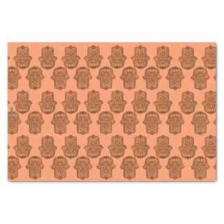 HamsaのHenna手(オレンジ) 薄葉紙