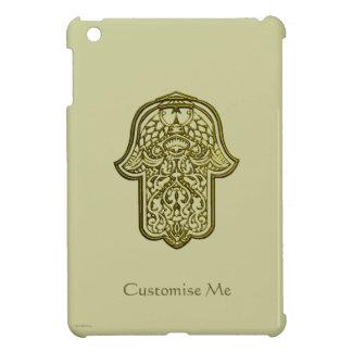 HamsaのHenna手(金) iPad Mini Case
