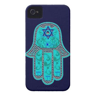 Hamsaのiphone 4のやっと場合 Case-Mate iPhone 4 ケース