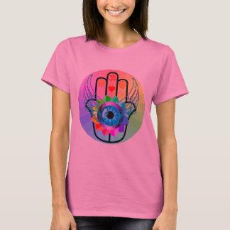 Hamsa治療のワイシャツ Tシャツ