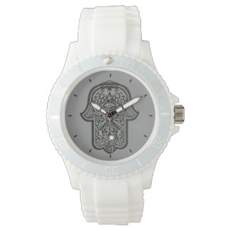 Hamsa (オリジナル)のHenna手 腕時計