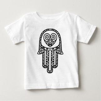 Hamsa -ファティマの手 ベビーTシャツ