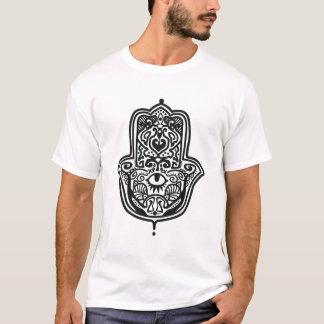 Hamsa -ファティマの手 tシャツ