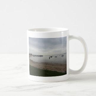 HamworthyからのPoole港 コーヒーマグカップ