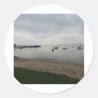 HamworthyからのPoole港 ラウンドシール