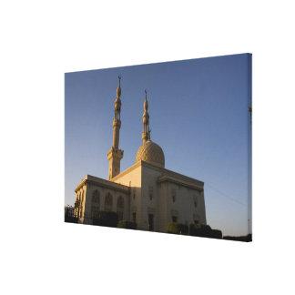 Hamza、スエズ、南シナイ、エジプトのモスク キャンバスプリント
