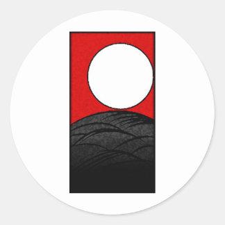 hanafudaの日本カード(日本京都) 丸型シール
