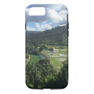 Hanaleiの谷、カウアイ島ハワイのiPhone 7の堅い場合 iPhone 8/7ケース