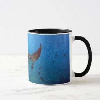 Hanauma湾のハワイのオニイトマキエイのマグ マグカップ