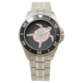 Hanauma湾のハワイのカメ 腕時計