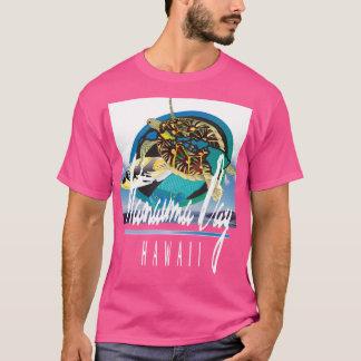 Hanauma湾のハワイのカメ Tシャツ