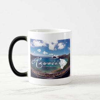 Hanauma湾のハワイの島 モーフィングマグカップ