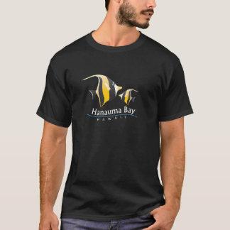 Hanauma湾のハワイのMoorishの偶像の魚 Tシャツ